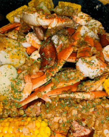 garlic butter seafood boil