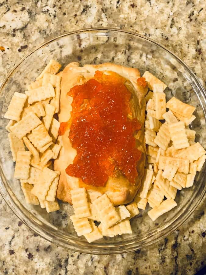 Pepper Jelly Cream Cheese Dip