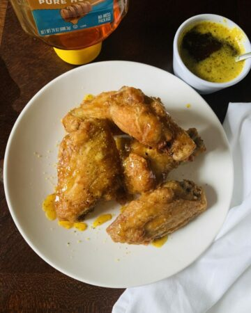 lemon pepper honey chicken wings