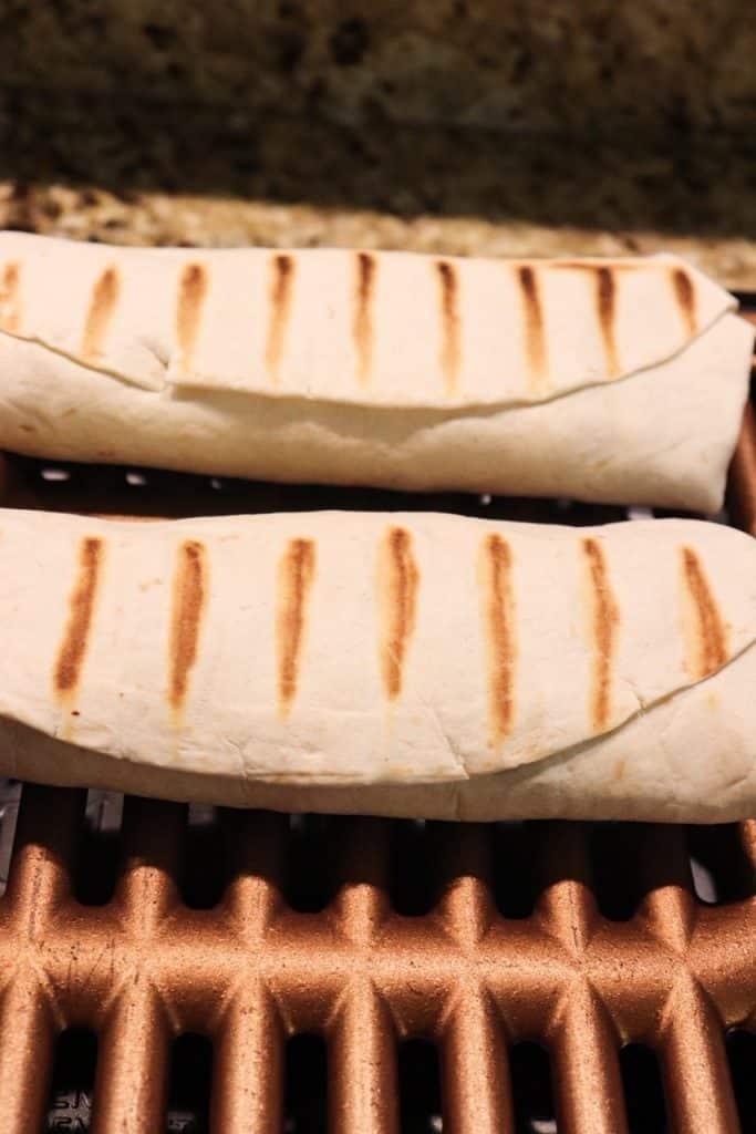 Cheesy Bacon Loaded Breakfast Burrito