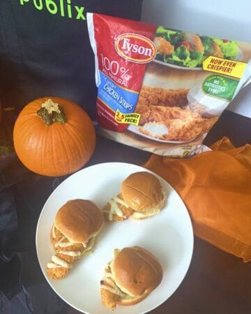 Mummy Sliders with Tyson® Chicken Tenders