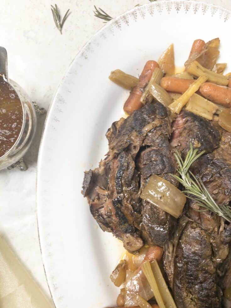 Amazing Brown Gravy Pot Roast