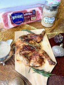 Herb Butter Cornish Hen