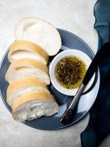 Herb Infused Olive Oil Bread Dip