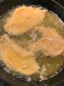 Buttermilk Brined Chicken Fried Chicken