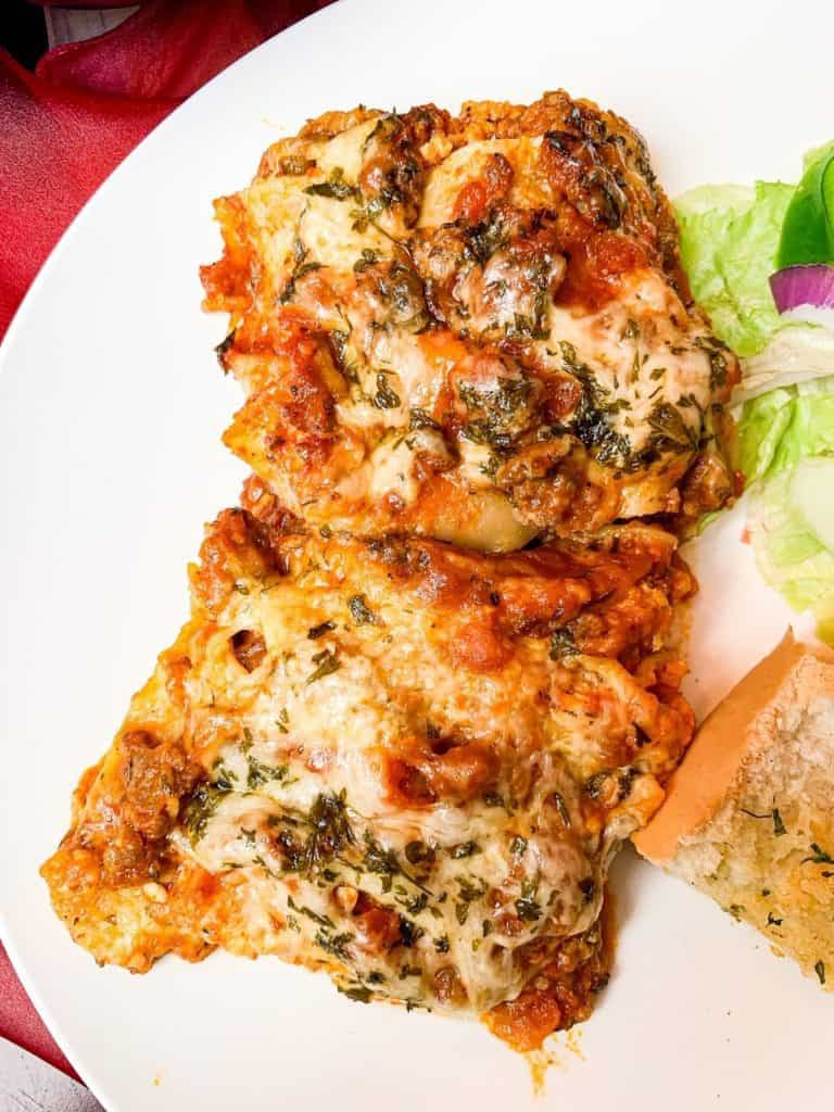 Easy Mouthwatering Homemade Lasagna
