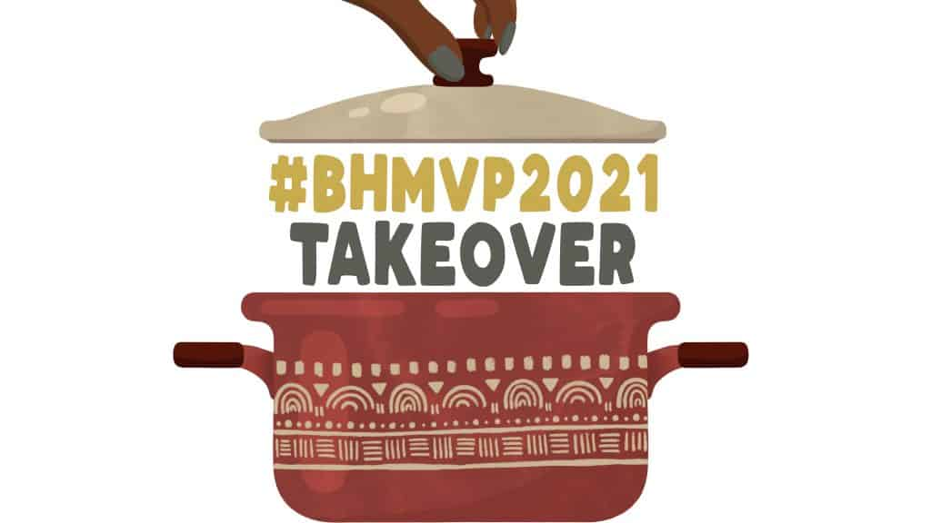 a picture of a pot that says BHMVP2021 takeover