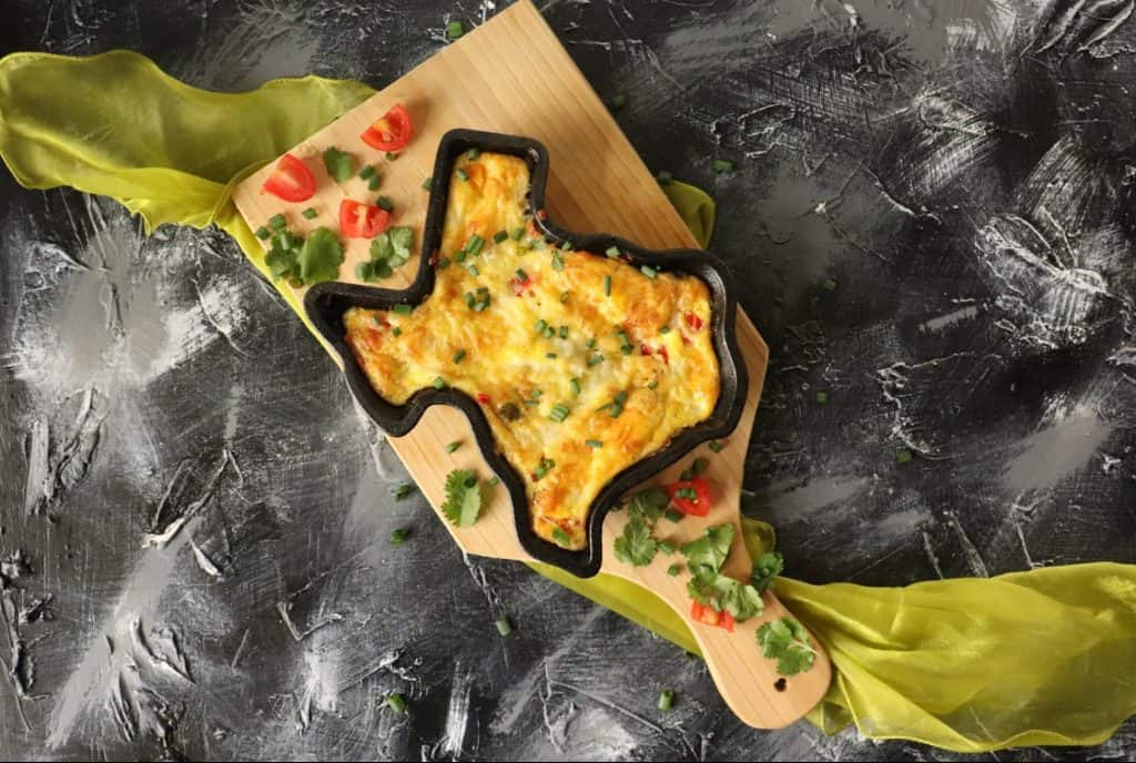 Baked Cheese and Vegetable Frittata