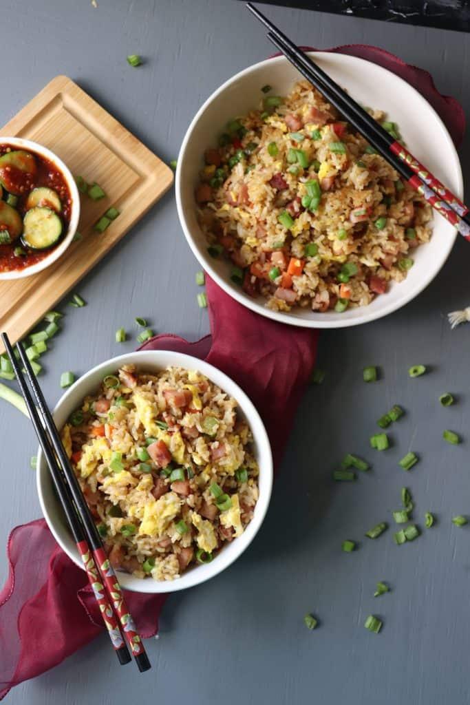 Leftover Pork Fried Rice