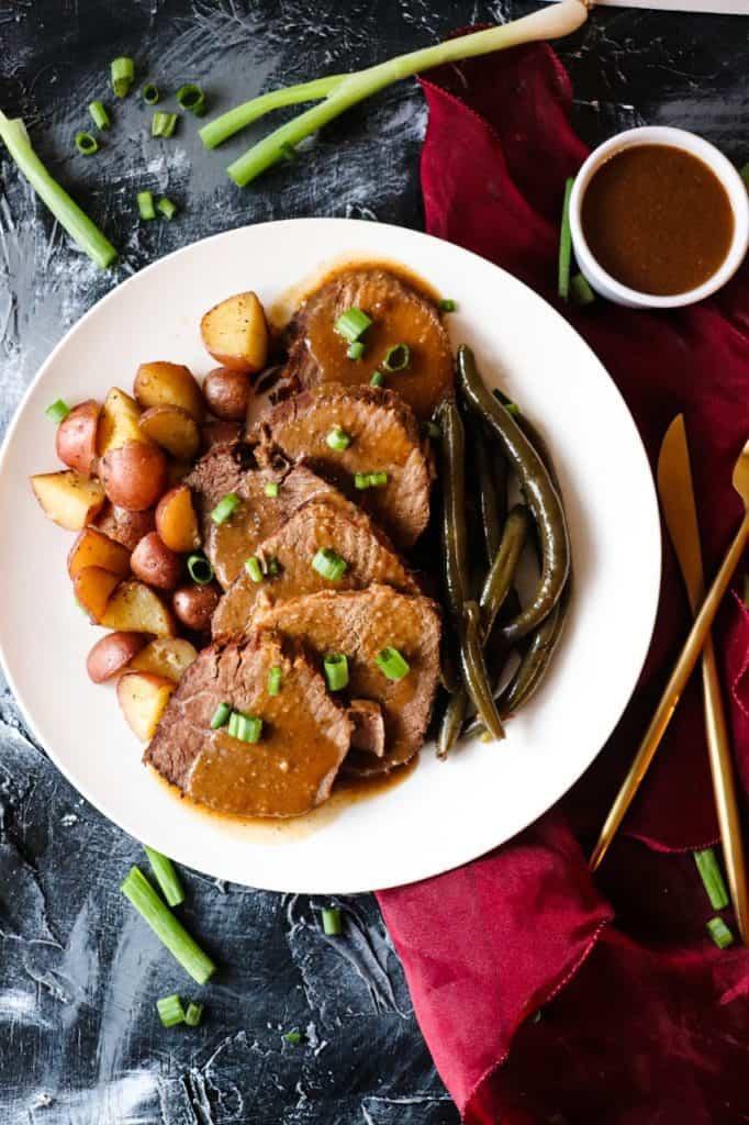 Amazing Brown Gravy Pot Roast