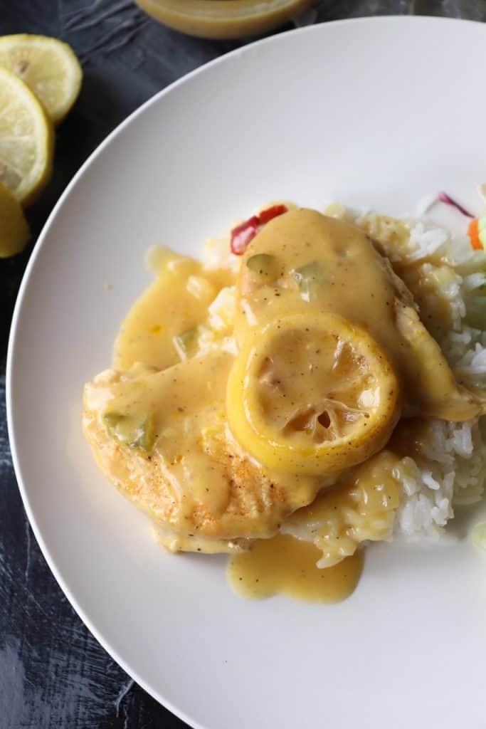 creamy lemon pepper chicken