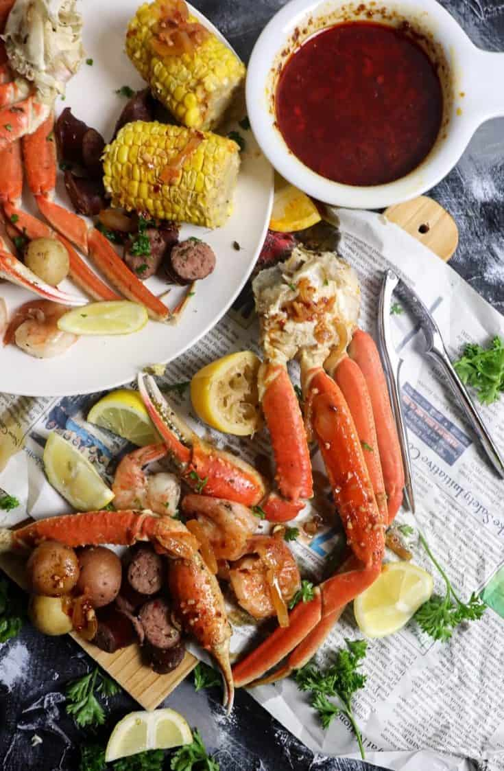 Garlic Butter Seafood Boil