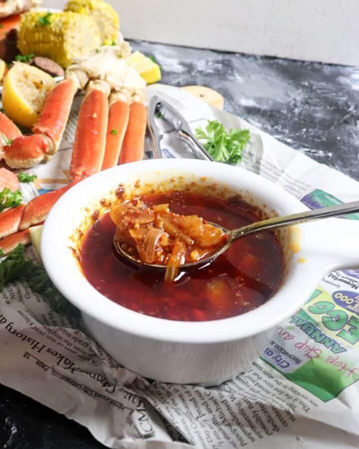 garlic butter seafood boil sauce