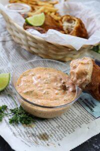 Zesty Cajun Tartar Sauce