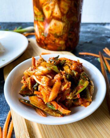 Easy Homemade Korean Kimchi