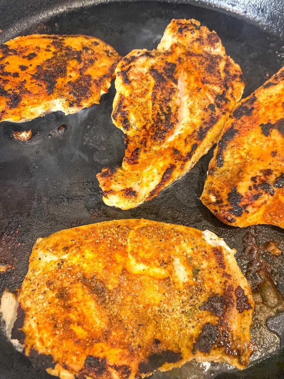 blackened chicken breast